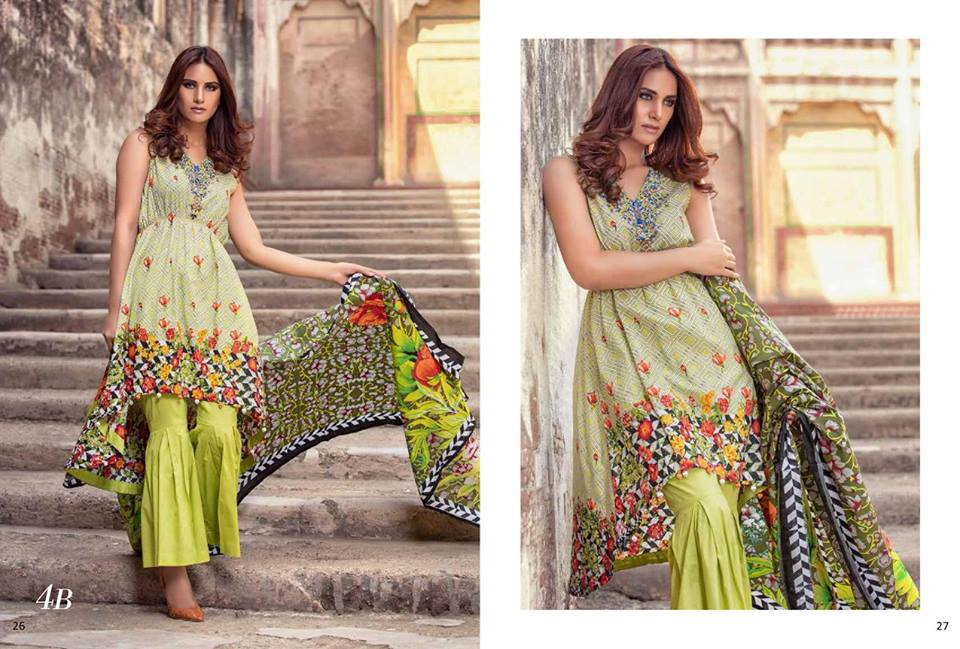 Al-Zohaib Monsoon Festivana Spring Summer Lawn Collection 2018