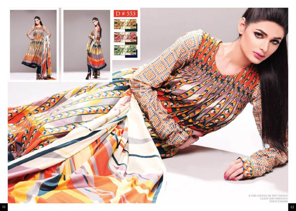 Batik Latest Lawn Collection 2018 by Moon Textile