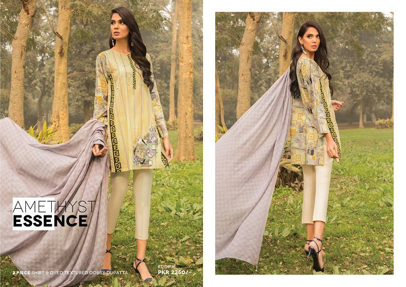 Beech Tree Lawn Spring Summer Collection 2018 Vol-1