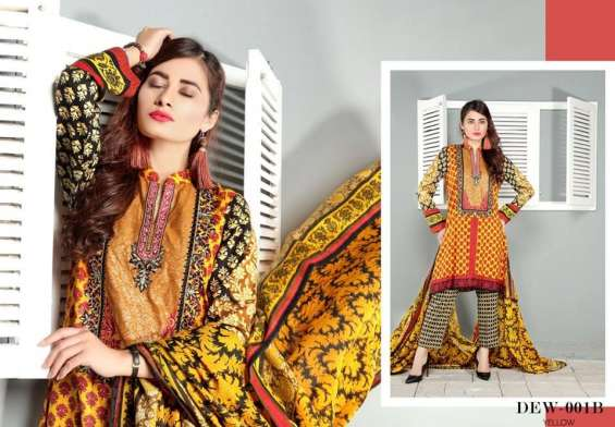 Dawood Lawns Spring/Summer Kurti Collection 2018 Vol-1