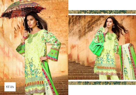 Deeba 3 Piece Premium Cambric Collection 2018 By Shariq Textiles