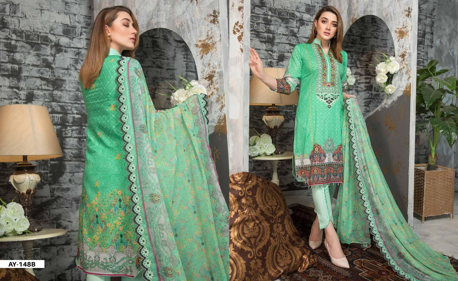 Liali Designer Summer Collection 2018 Vol-01 By Dawood Textile