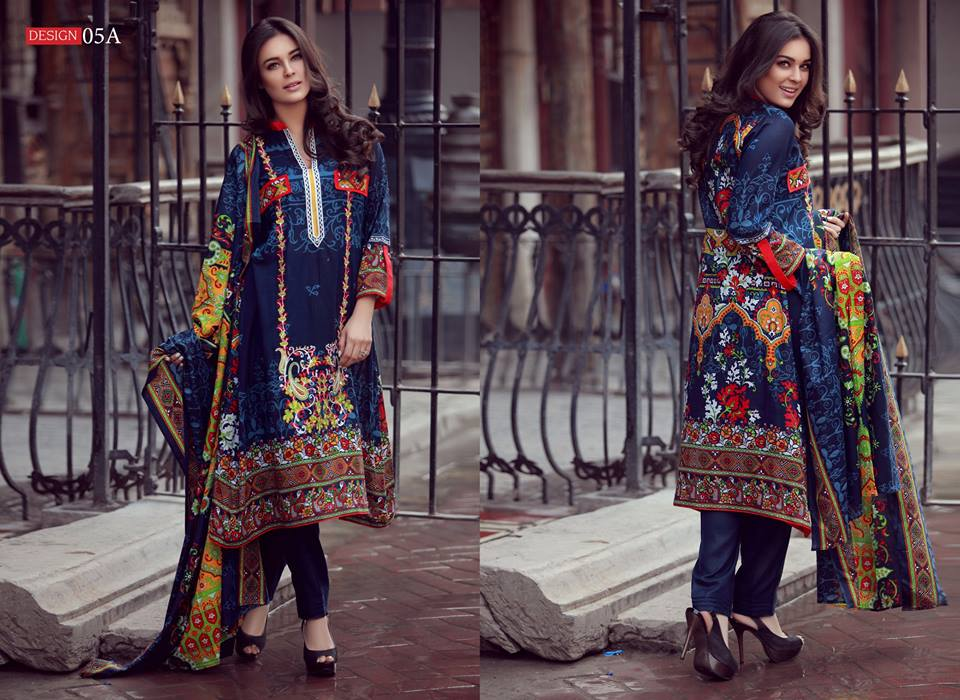 Libas Designer Embroidered Collection by Shariq Textiles