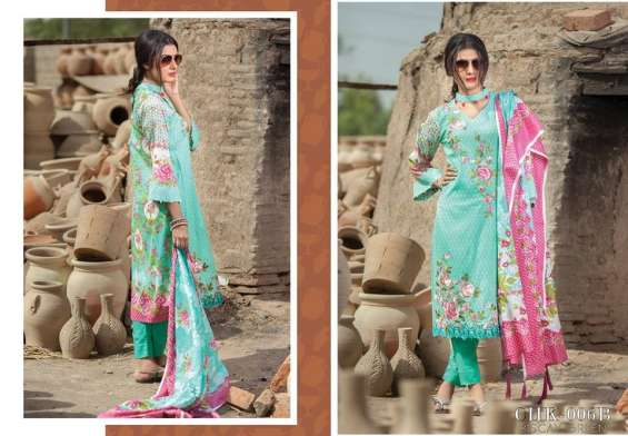Mashaal Embroidered Lawn Collection 2018 By Lala