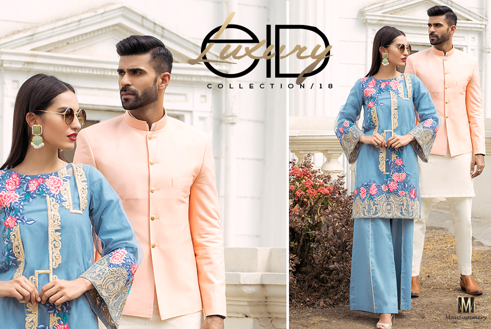 Mausummery Spring/Summer Fancy Lawn Dress Collection 2018
