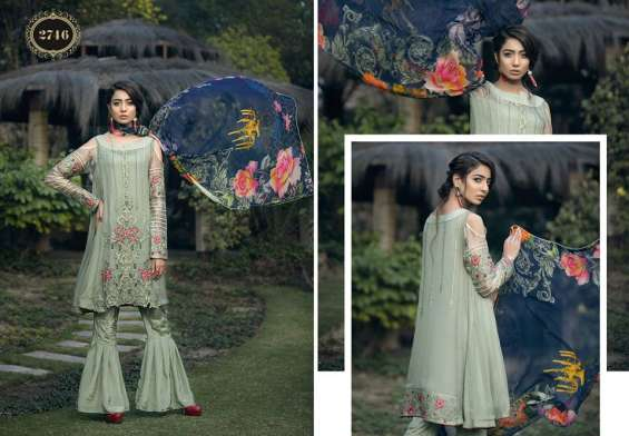 Needlez By Shalimar Rung De Lawn Summer Collection 2018