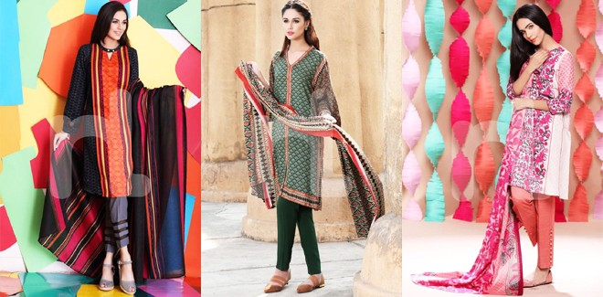 Nishat Digital Printed Lawn Shirts Summer Collection Vol-2 2018
