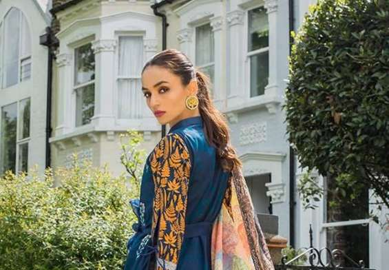 Tanzaib Kurti Shalwar Collection 2018 by Shaista Textiles