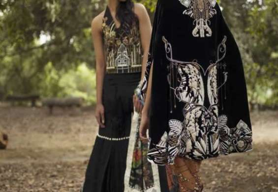 The Nida Azwer Atelier Resort Summer Collection 2018