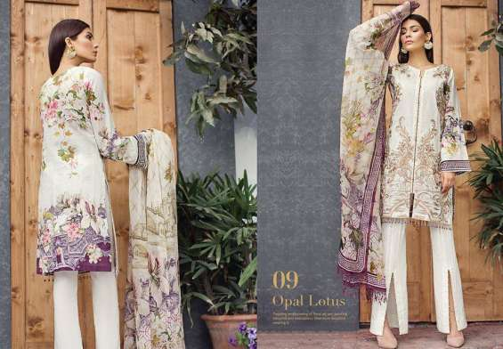 Baroque Premium Lawn collection 2018 VOl-2