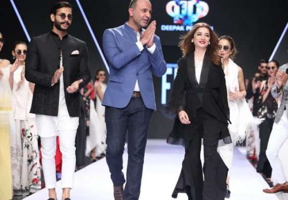 Black is the New White By Deepak Perwani At FPW 2018