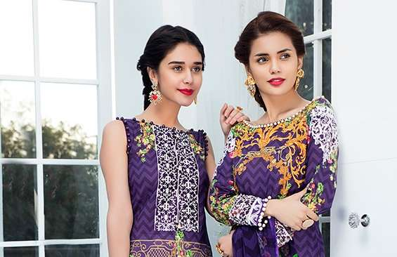 Gulaal Introducing Embroidered Lawn Collection 2018