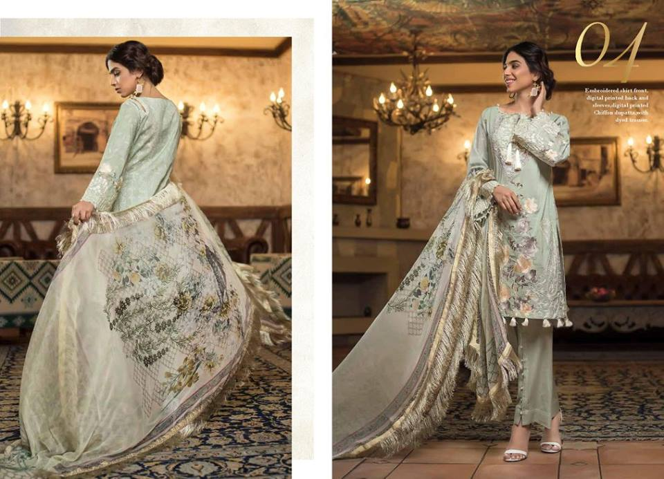 Mahiymaan Eid Collection 2018 By Al-Zohaib Textile
