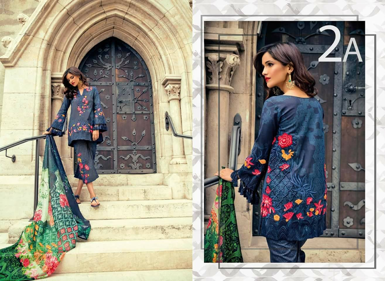 Mina Hasan Eid Collection 2019 By Shariq Textiles