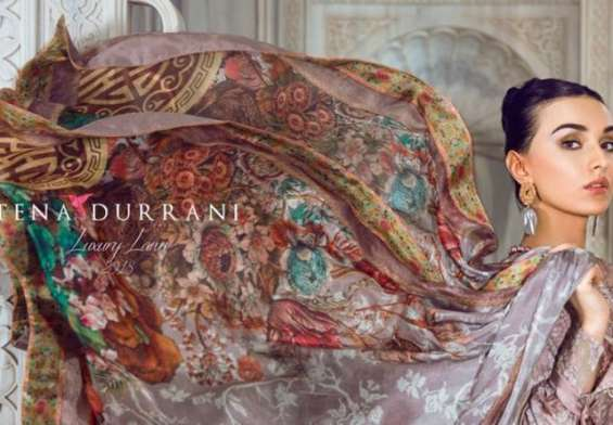 TENA-DURRANI-LUXURY-LAWN-by-ALZOHAIB 2018