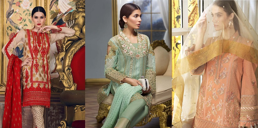 GulAhmed Wedding Collection 2019