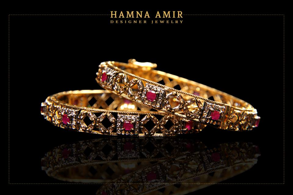 Hamna Amir Designer Jewelry Latest Collection 2019