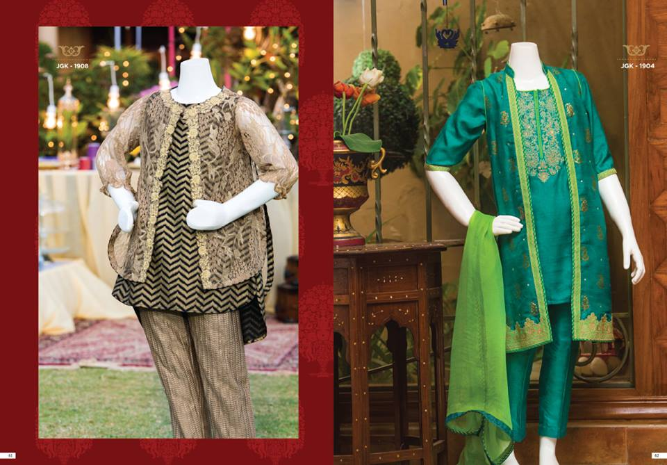 Junaid Jamshed Eid Collection 2019
