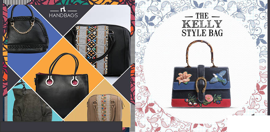 Nishat linen bags and clutch Summer Collection 2019