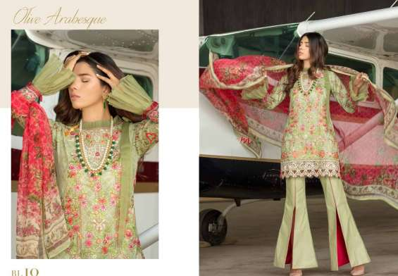 Ritzy Luxe Eid Collection 2019 By Ombre