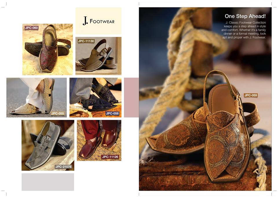 J. Junaid Jamshed Shoes Latest Summer Collection 2019